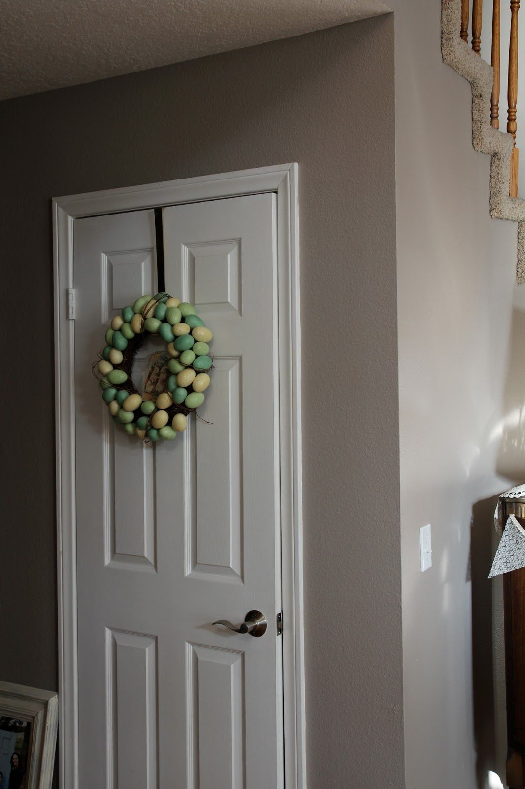 Sherwin Williams Perfect Greige Entryway Paint Colors
