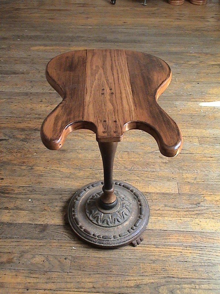 Guitar Shaped Chair Chromcraft Parts Body Stool Or Table Pretty Cool Stuff Pinterest