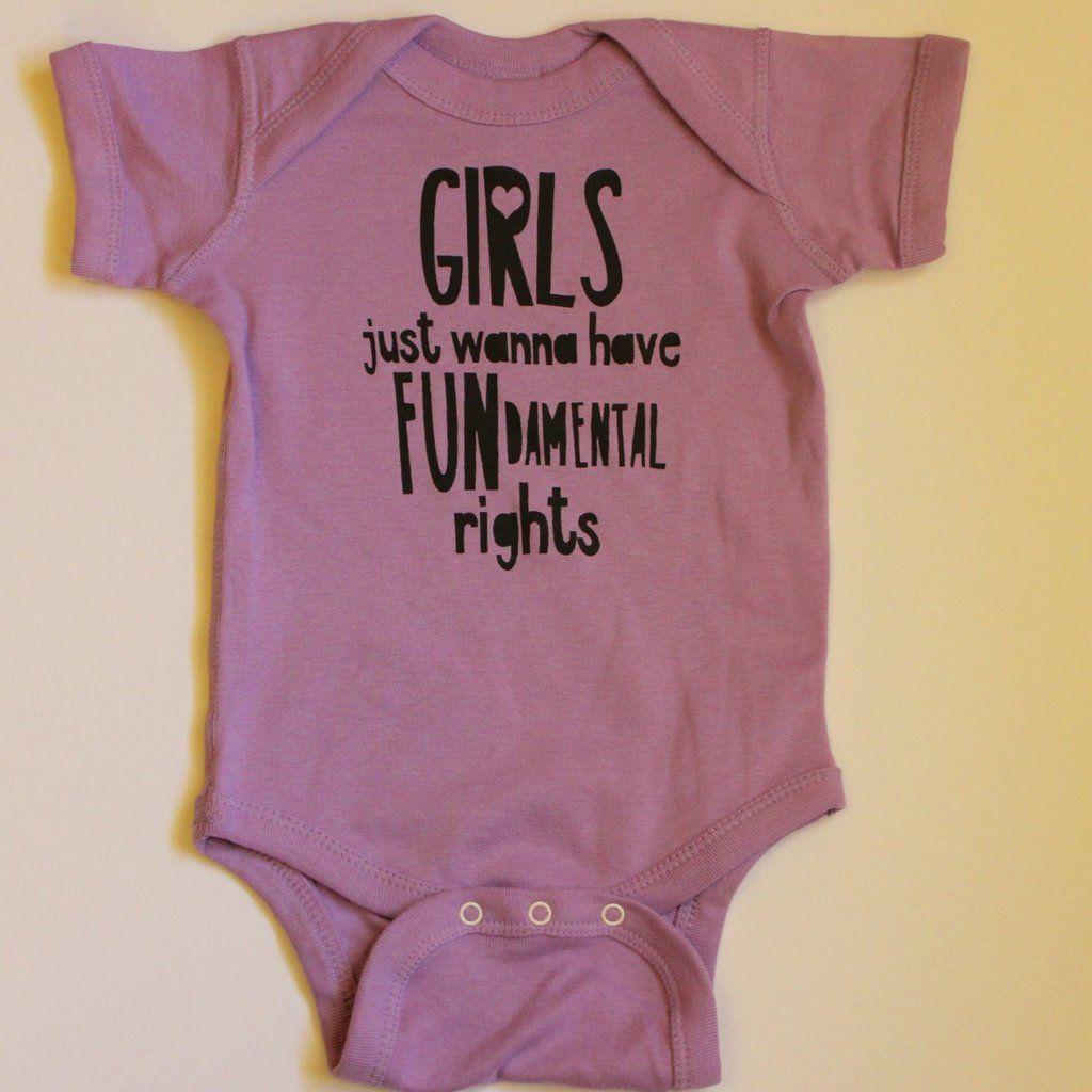 Movie Girl Power Shirt New Baby Gift Wars Star General Baby Shower Gift Feminism Girls Rule Princess Feminist Onesies\u00ae Bodysuit