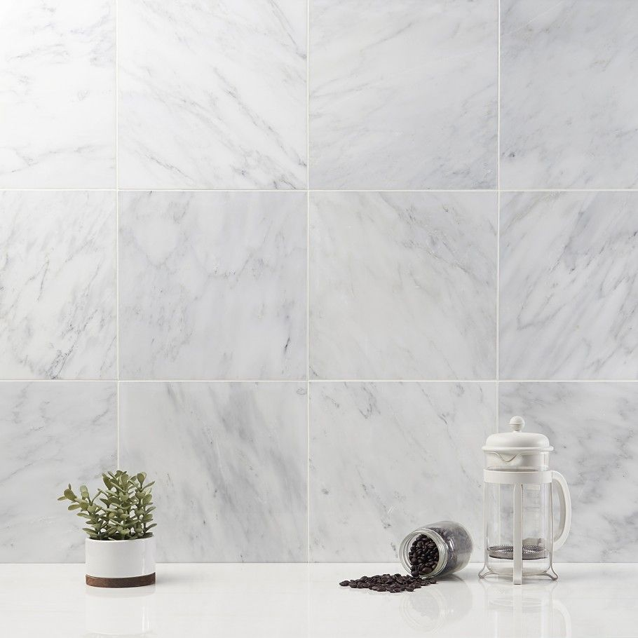 Asian Statuary 12x12 Polished Marble Tile In 2020 Polished Marble Tiles Marble Shower Tile Marble Tile