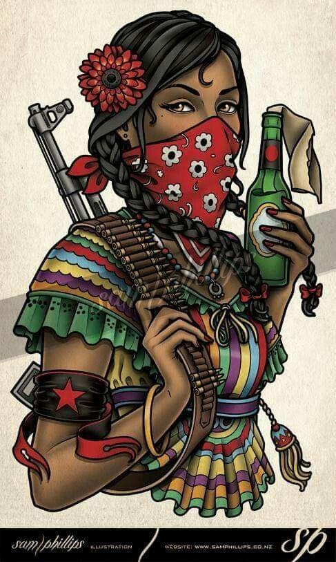 Pin De Cláudia Alves Cdo En Random Arte De Protesta Obras De Arte Mexicano Tatuajes De Arte Mejicano