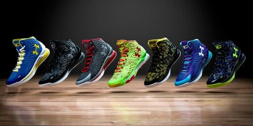Curry one colorways   Steph curry shoes