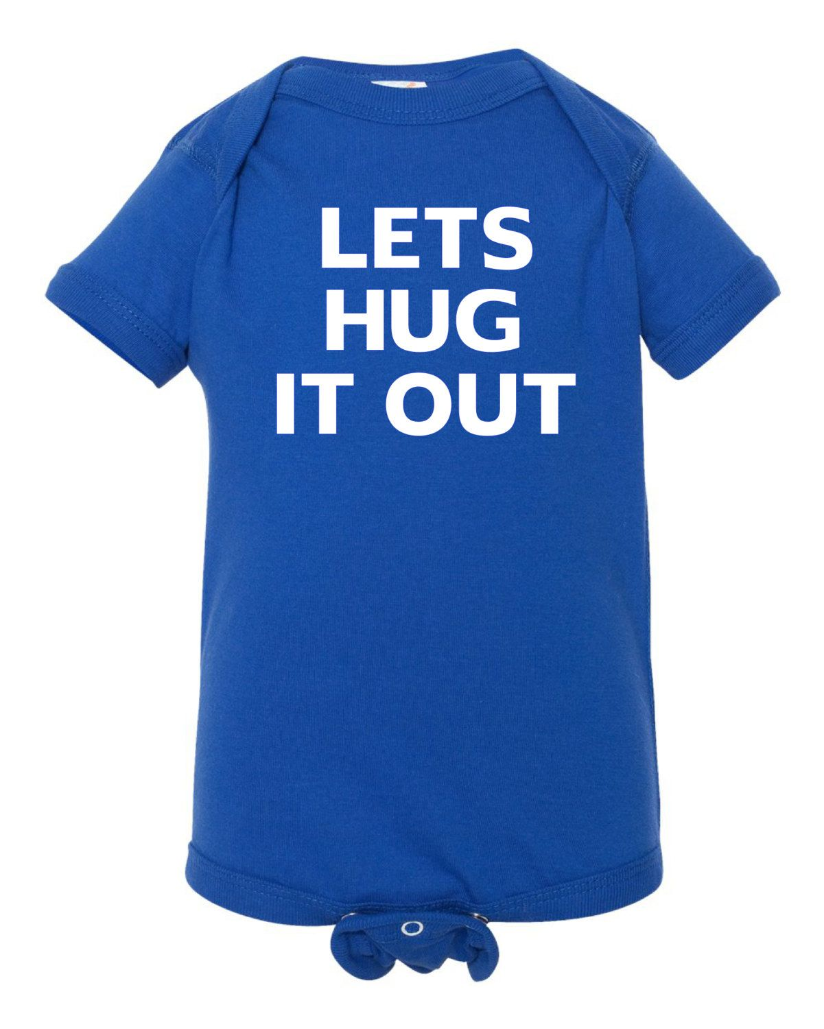 Lets Hug It Out, Creeper, Baby Creeper, Funny Baby Items,Babies, Baby  Clothing,Baby Body Suit,Funny Creeper by LilGroovysKids on Etsy