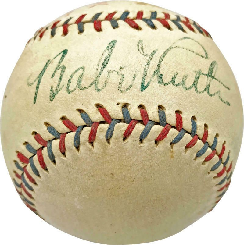Babe Ruth Single Signed Autographed 1931 33 Yankees Oal Baseball Psa Dna Sgc Baberuth Collectibles Autograp Babe Ruth Babe Ruth Baseball Babe Ruth Autograph