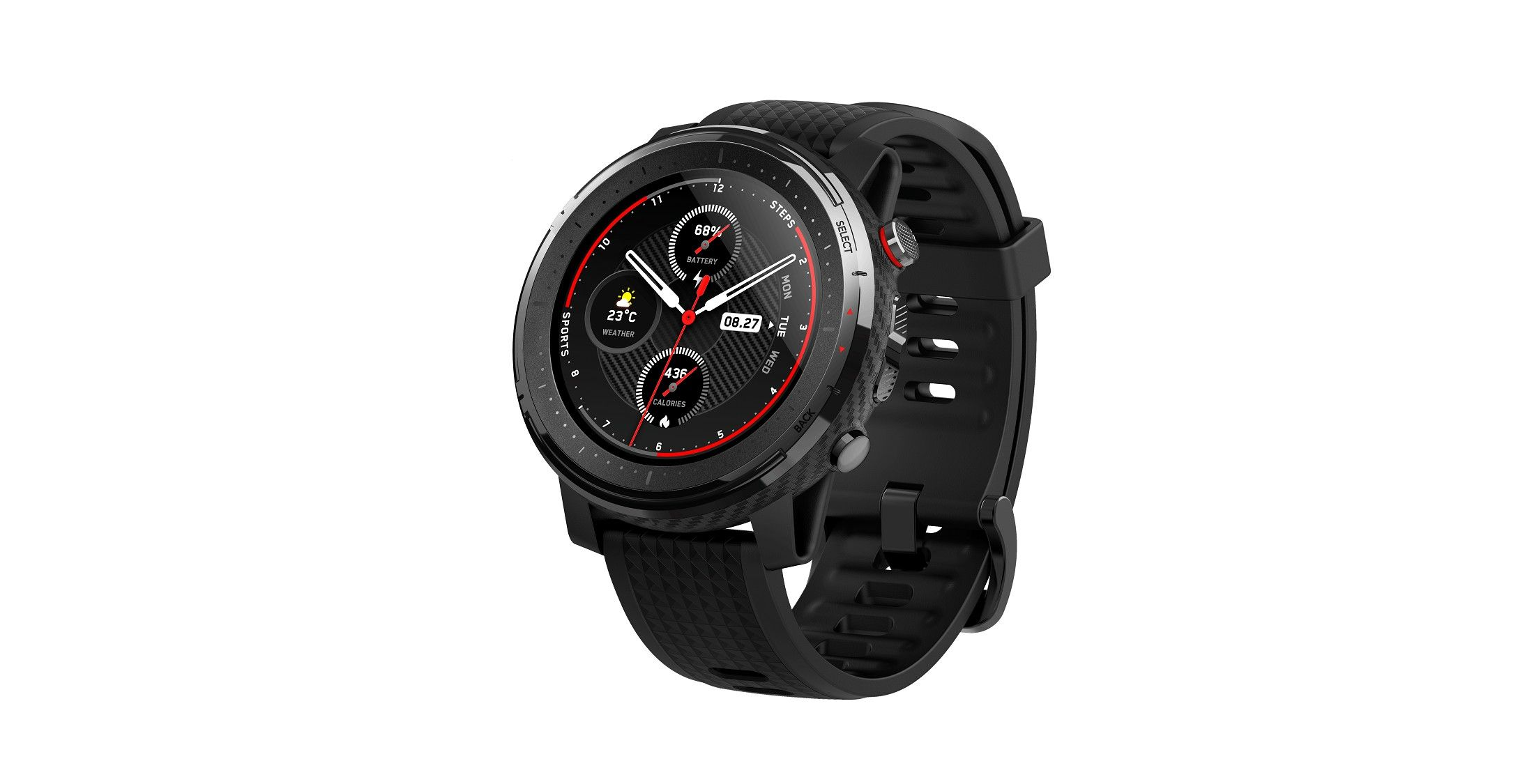 Amazfits dual os sports watch stratos 3 poised to launch
