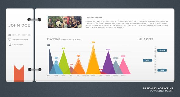 Interface Concepts - playfulness with sophistication Daytime - user interface designer resume