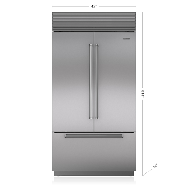 42 Built In French Door Refrigerator Freezer With Internal Dispenser Bi 42ufdid S Sub Zero Appli French Door Refrigerator French Doors Sub Zero Appliances