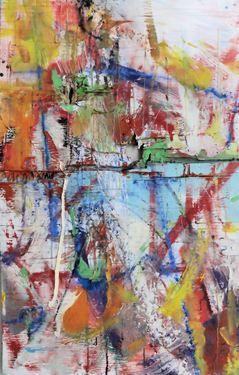 "Saatchi Art Artist David Wackell; Painting, ""Bicycle Choice"" #art"