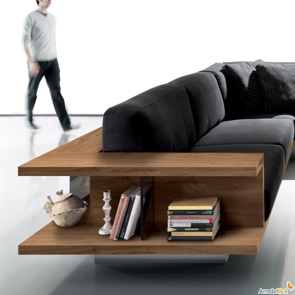 accoudoirs pour canap yang disponible en version biblioth que arredaclick int rieurs. Black Bedroom Furniture Sets. Home Design Ideas