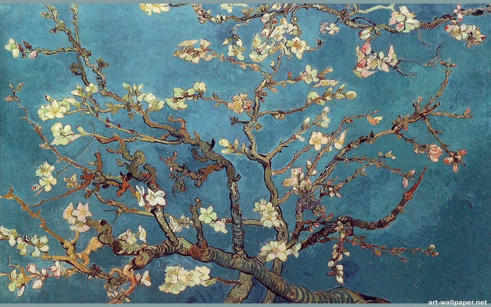 Vincent Van Gogh Classic Art Painting Flowers Trees Artwork 720p Wallpaper Hdwallpaper Desktop Oil Painting Abstract Canvas Art Van Gogh Paintings