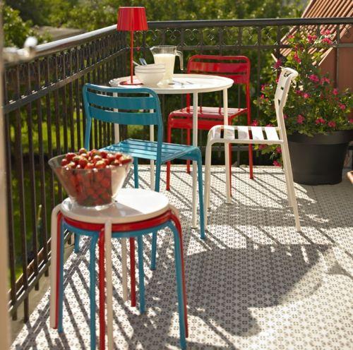 Balkonmöbel  Coole Balkon Möbel Ideen – 15 praktische Tipps für eine schöne ...