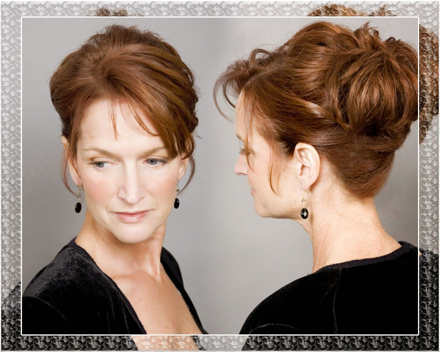 Mother Of Bride Updo Hairstyles Bing Images Hair