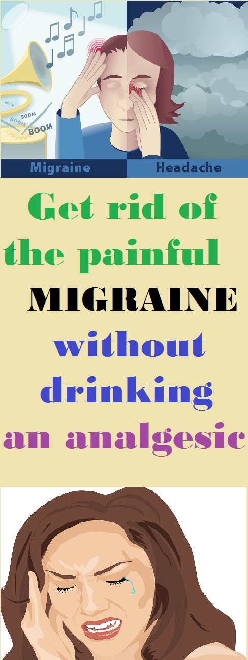Get Rid Of The Painful Migraine Without Drinking An