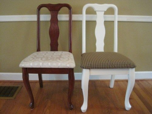 These Are Almost Identical To My Dining Room Chairs Good Tutorial On How Remove And Refabric The Cushions