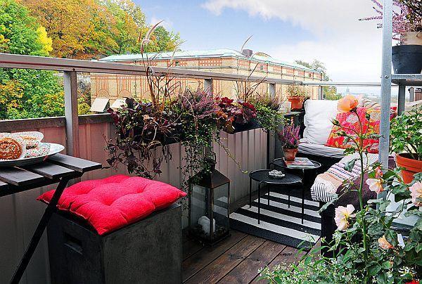 Spacious 3 1 Apartment With A 7 Sqm Balcony Balcony Design Outdoor Rooms Balcony Decor