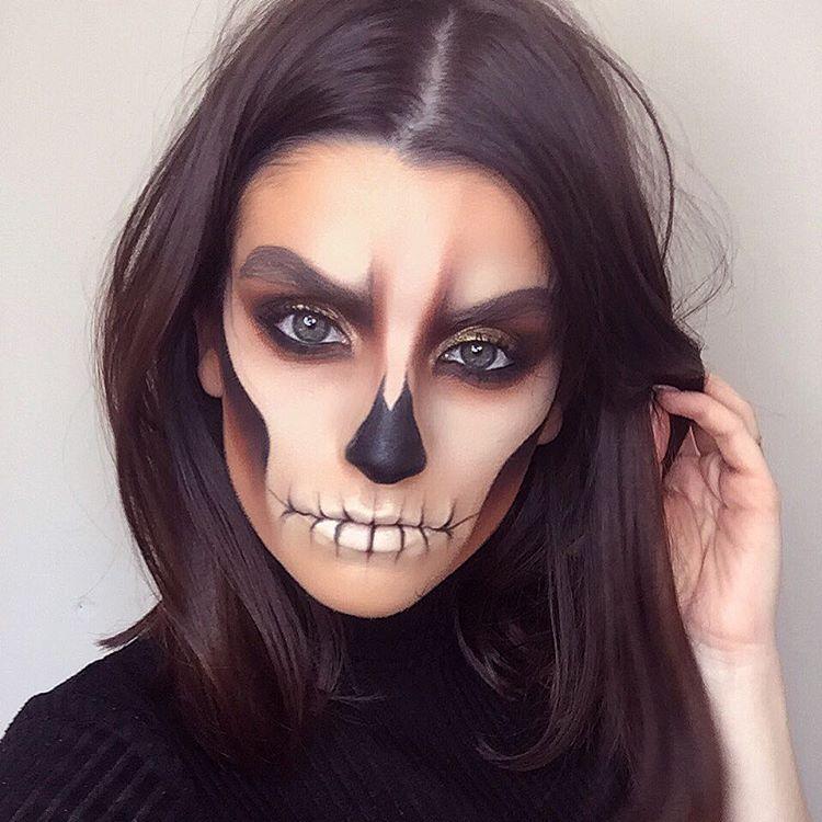 Halloween Looks Scary.Pin By Autumn Rufer On Halloween Halloween Makeup
