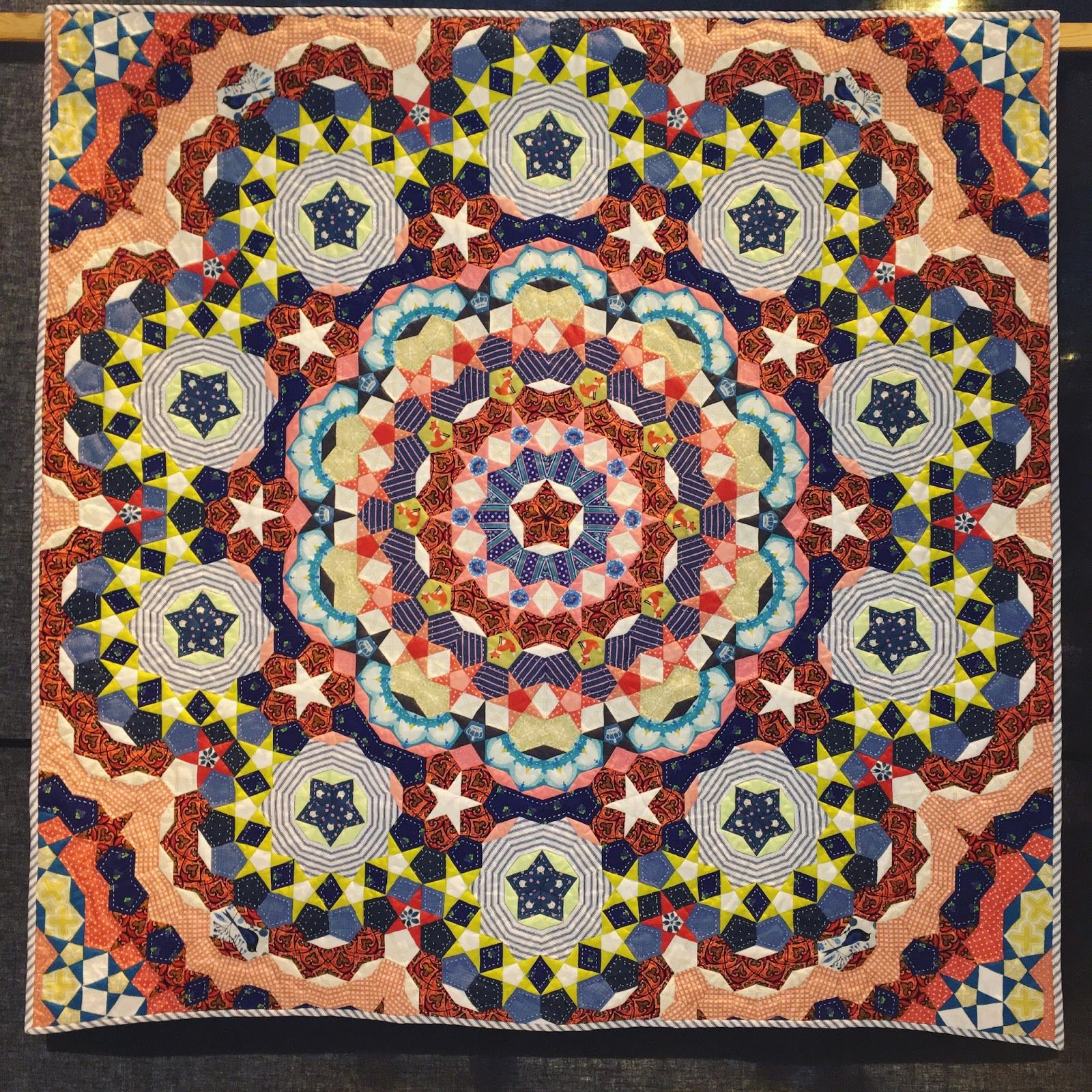 Carousel by Clare O'Rourke. 2016 Festival of Quilts (UK). Photo by ... : uk quilting blogs - Adamdwight.com