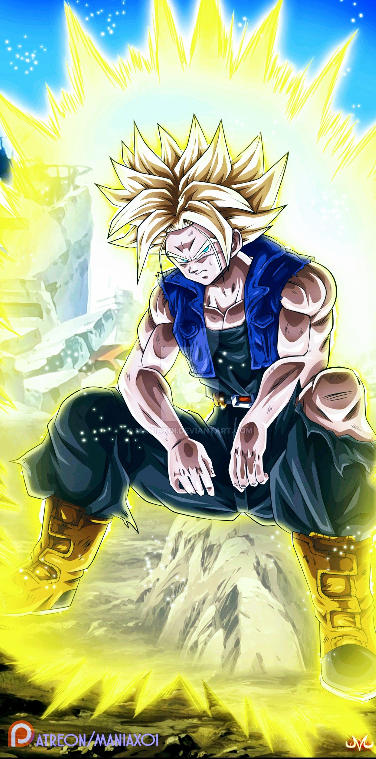 Future Trunks Dragon Ball Super Dragon Ball Artwork Anime Dragon Ball Dragon Ball Super Manga