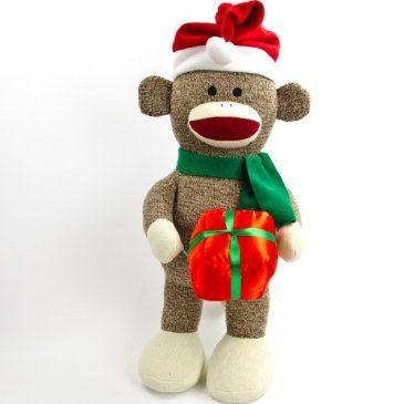 Holiday Sock Monkey Http Shop Crackerbarrel Com Holiday Sock