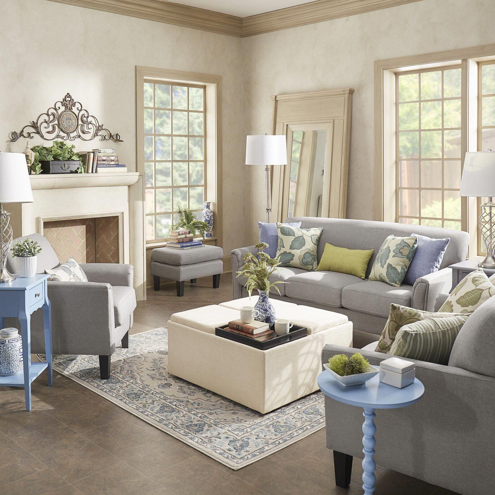 Three Posts Forsan Configurable Living Room Set