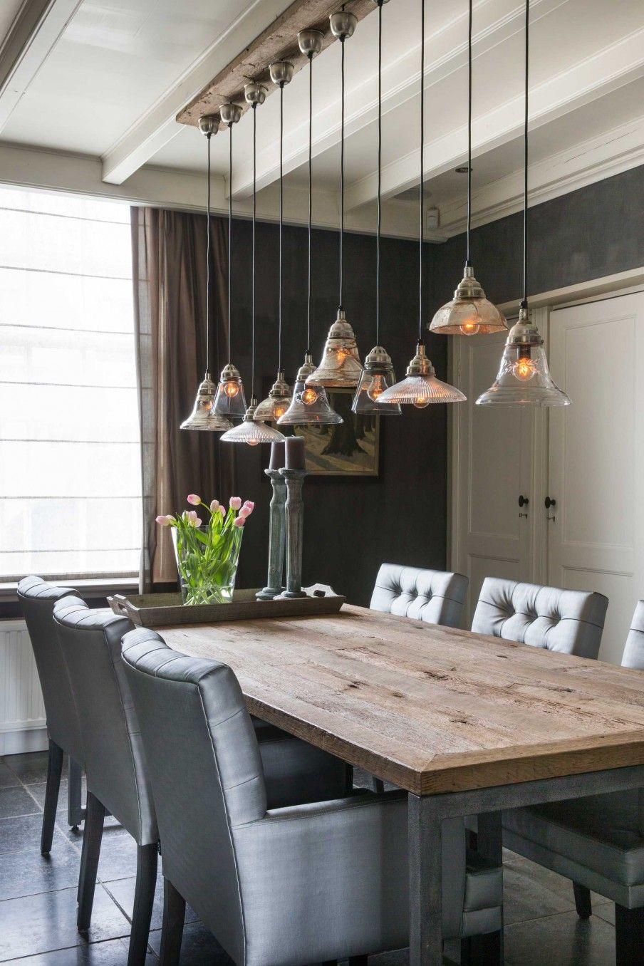 Eettafel lampen kamers pinterest eettafel lampen en for Lampen eettafel design