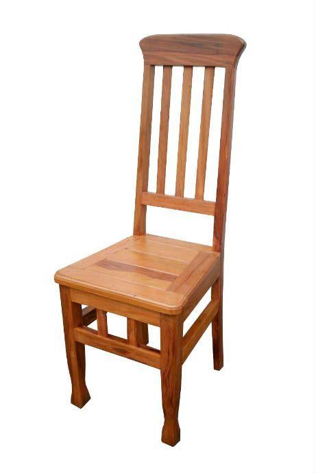 Cadeira Marcela em Madeira de Demolição - Cód 2358 - Bancos e Banquetas - Madeira de Demolição - Barrocarte