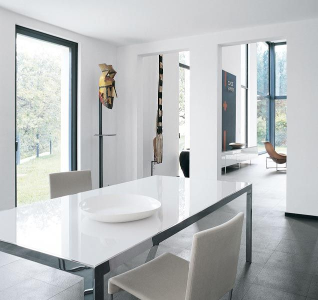 Architecture marvelous white dining room suite next to the living room contemporary home style and its outstanding design