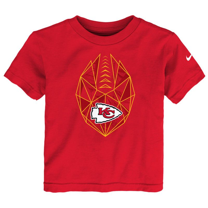 huge discount 5d39a 875dc Kansas City Chiefs Nike Preschool Football Icon T-Shirt ...