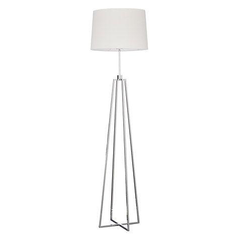 John Lewis Lockhart Floor Lamp, Chrome   John lewis, Floor lamp and ...