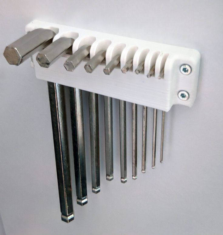 Inbusschlusselhalter Von Ii00ii0 Thingiverse Ii00ii0 Inbusschlusselhalter In 2020 3d Drucker Projekte Aufbewahrung Werkstatt Werkzeug Aufbewahrung