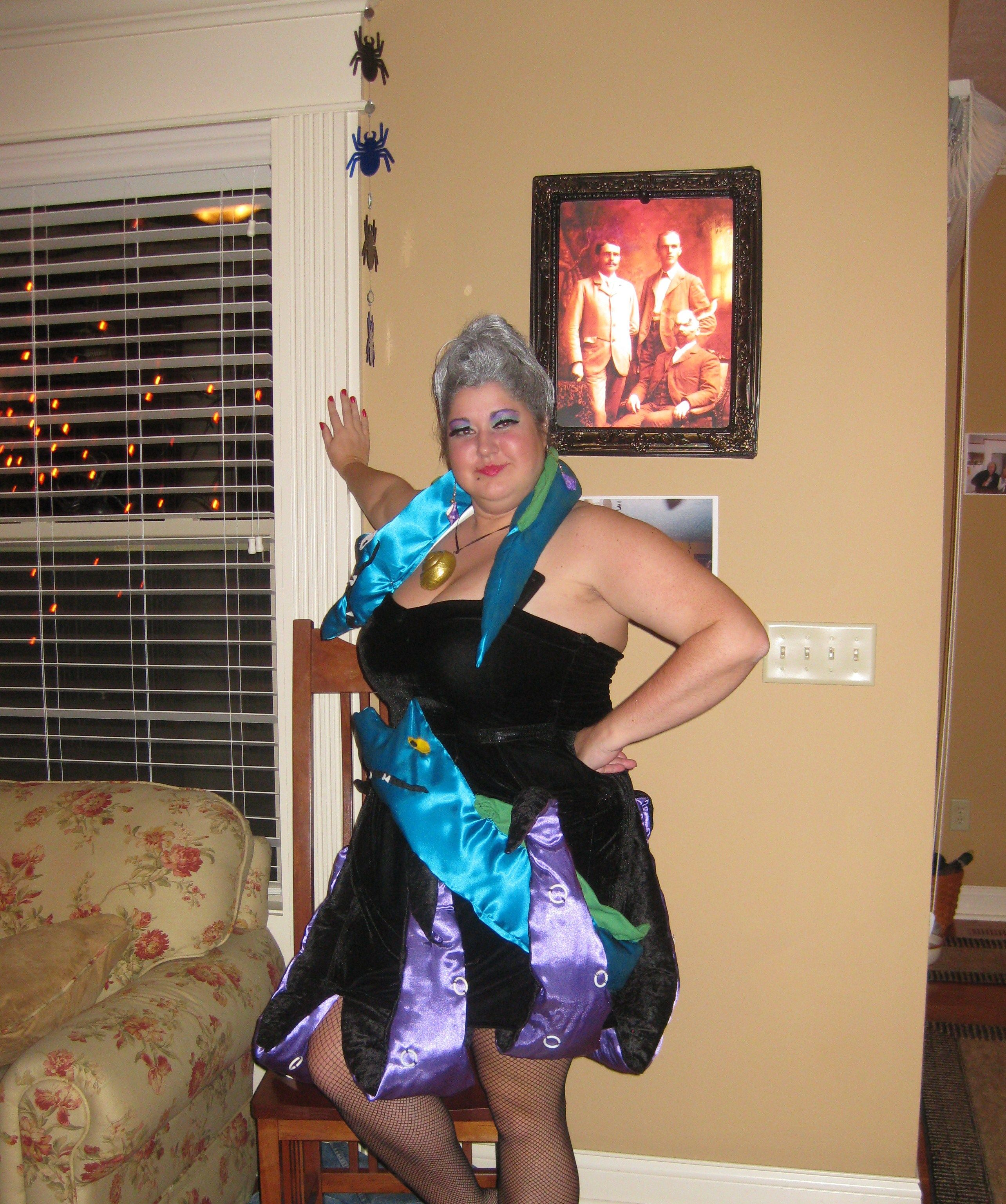 Homemade Halloween Costumes! Ursula from The Little Mermaid with ...