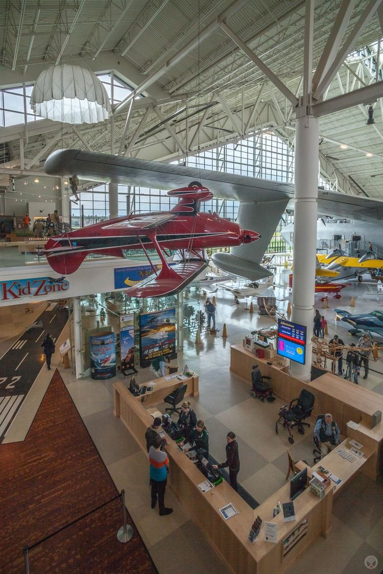 Evergreen Aviation Museum, McMinnville, Oregon. Photo by