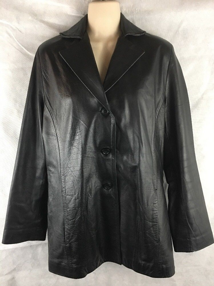 Golden Leather Jacket Black Made In Australia 100 Natural Leather