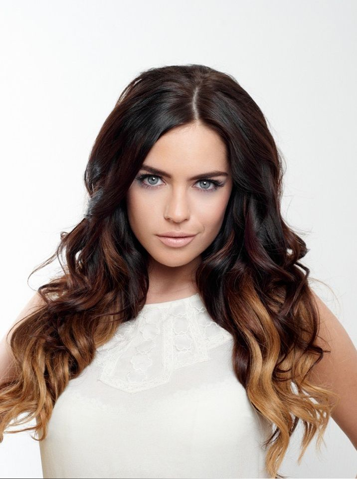 Clip In Dip Dye Extensions | Dipped hair, Dip dyed hair ...