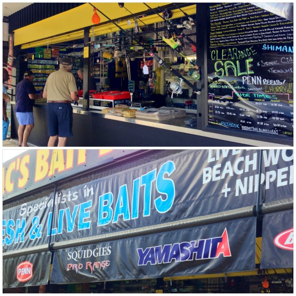 Shop at Mac's Bait Bar for live bait & fishing accessories
