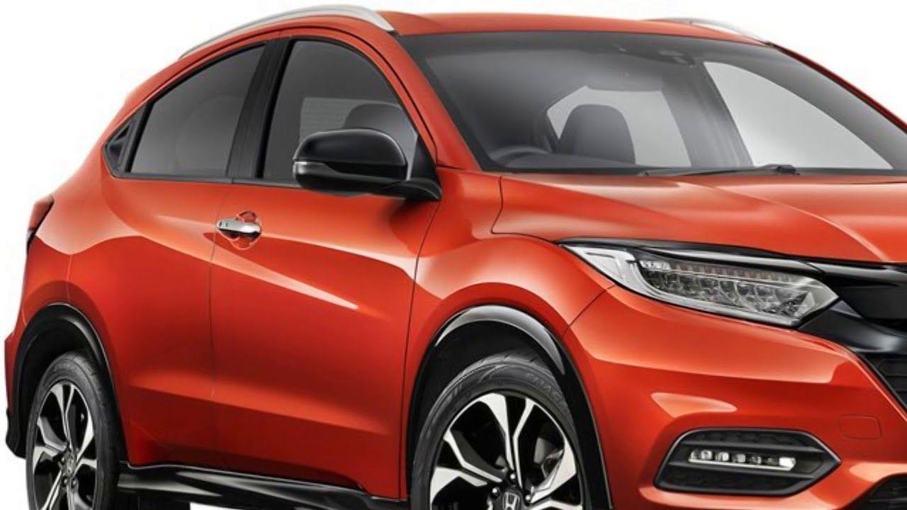 New 2019 Honda HR V sport EX & EX L interior exterior