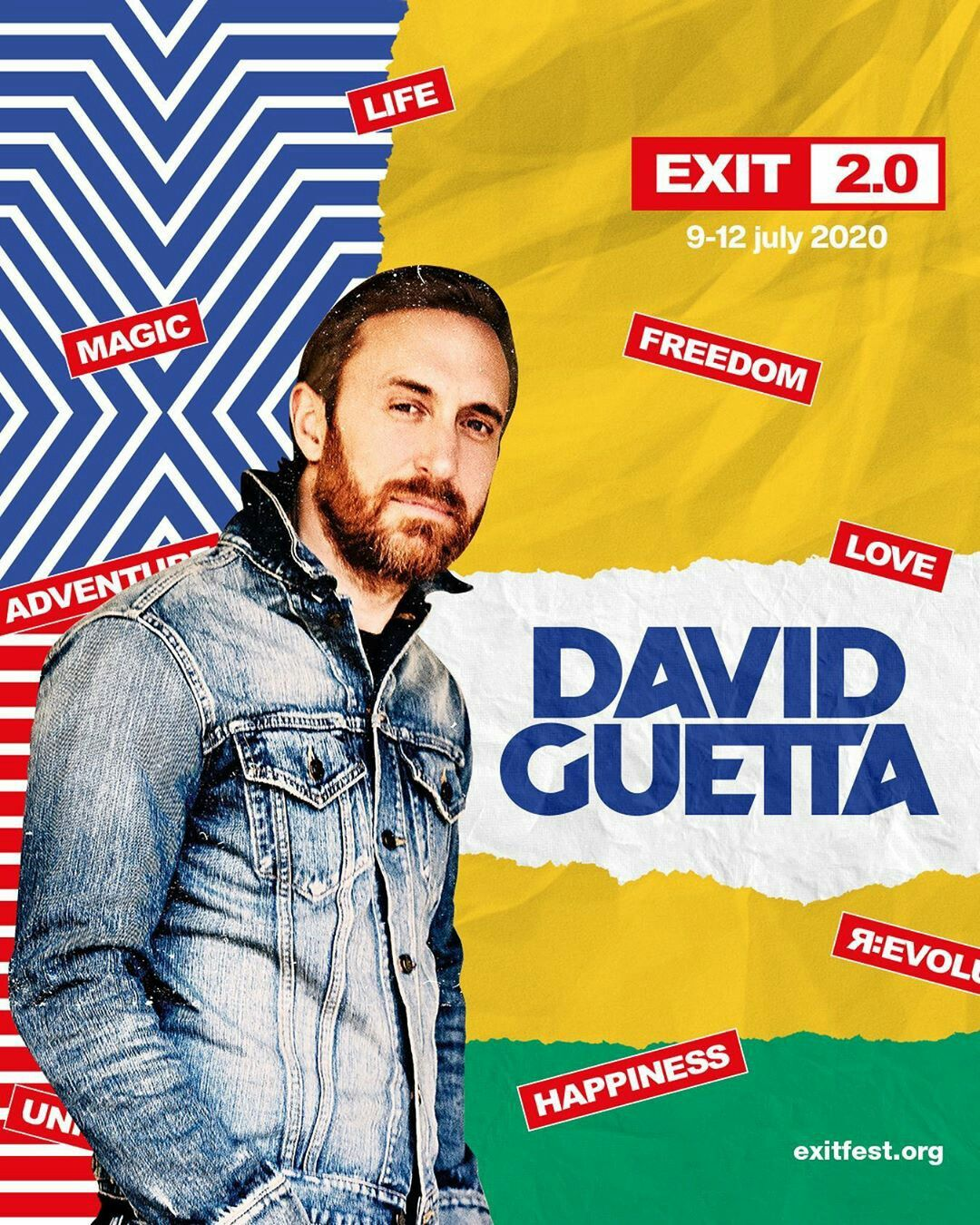 David Guetta Plays Exit Festival 2020