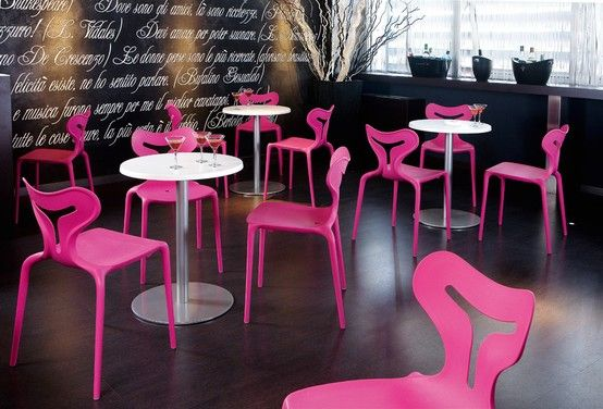 Calligaris Area 51 Chair #modern #pink - unique, innovative ...