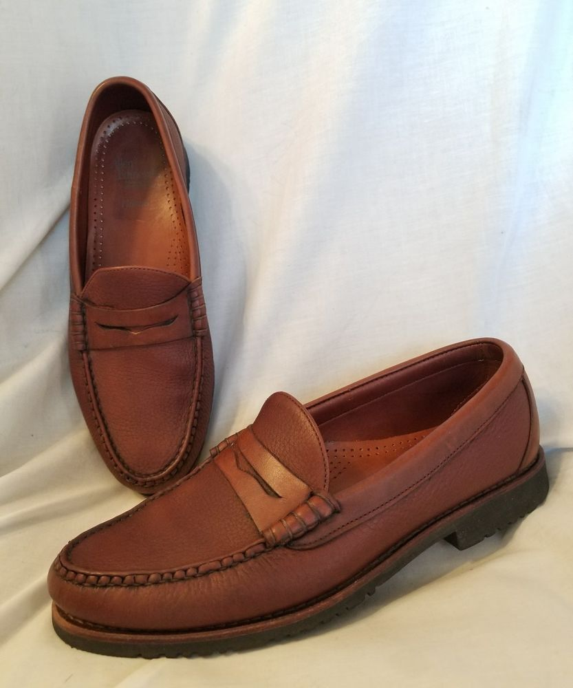 cdf7f944f51 Allen edmonds holton penny loafer brown pebbled leather made jpg 833x1000  What stores sell penny loafers