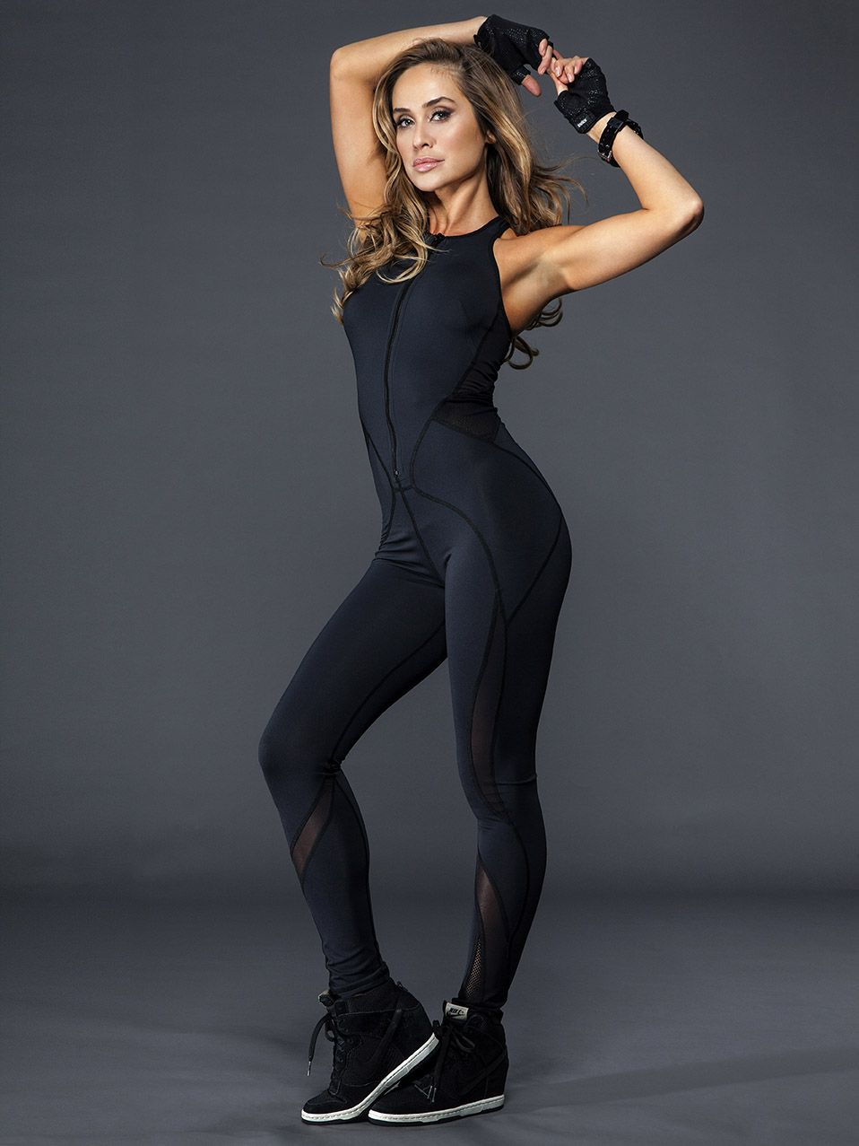 Medusa Jumpsuit in Black