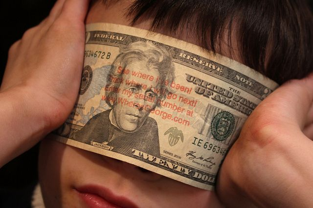 Here's how to track your dollar bills with Wheres George a.k.a. the Currency Tracking Project to see where your money has been & where it goes after leaving your wallet!