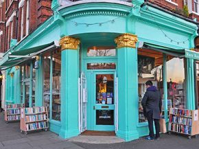 Here's where London's literary types go when they want to pickup a book they can hold in their hands or catch up on some reading with a good cup of tea.
