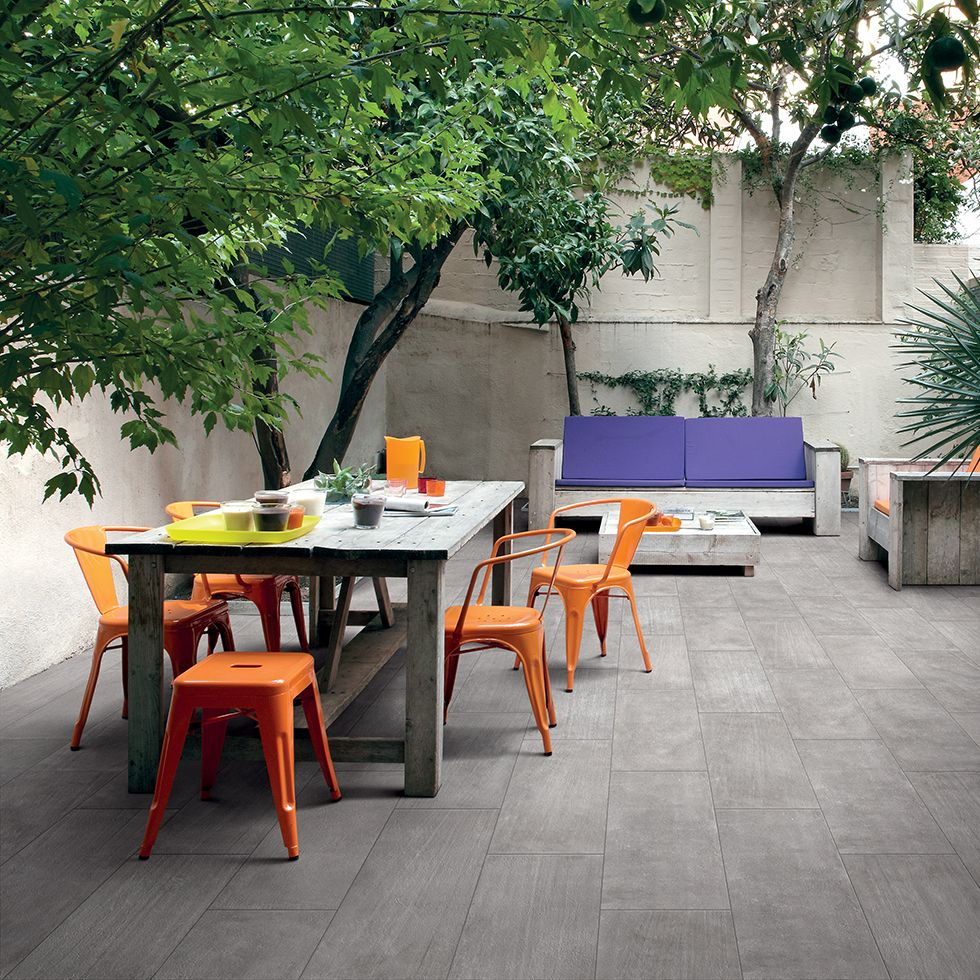 Fioranese blend concrete grigio textured interior pinterest porcelain stoneware outdoor floor tiles with concrete effect blend collection by ceramica fioranese dailygadgetfo Images