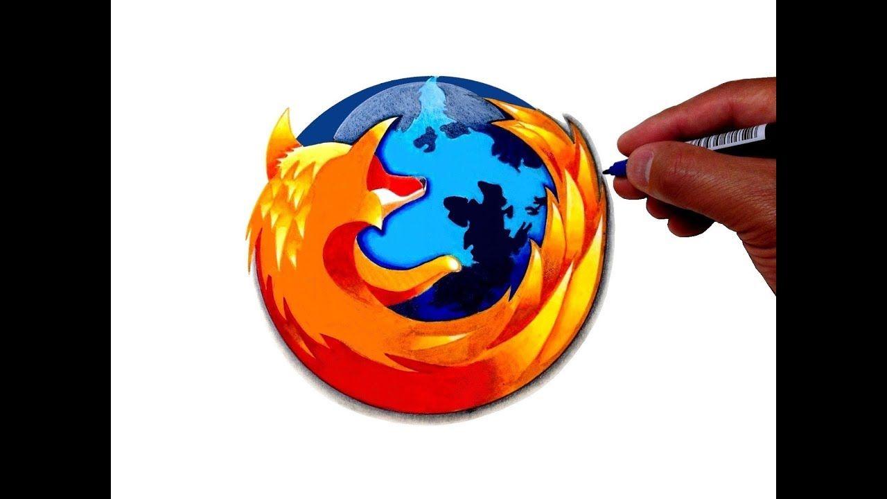 How To Draw The Firefox Logo In 2020 Firefox Logo Drawings Logos