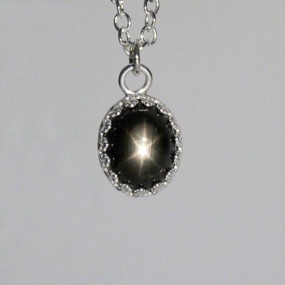 Natural 35ct black star sapphire pendant sterling by tsnjewelry natural 35ct black star sapphire pendant sterling by tsnjewelry aloadofball Choice Image