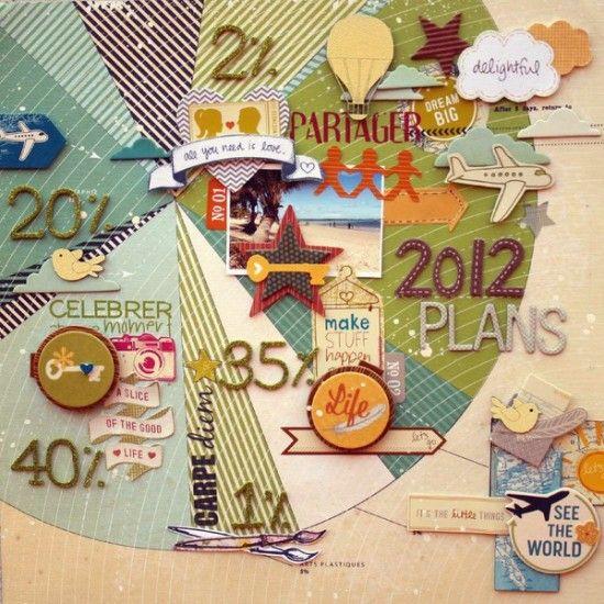 Creative Ways To Make A Timeline Scrapbook Ideas Pinterest