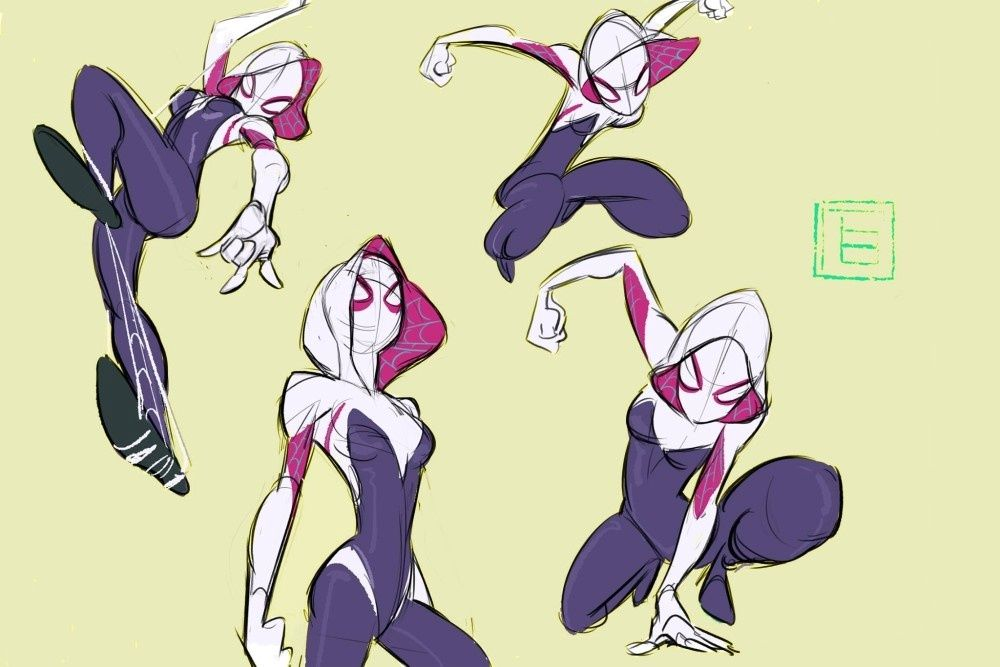 Pin By Okay Cool On Spider-Gwen
