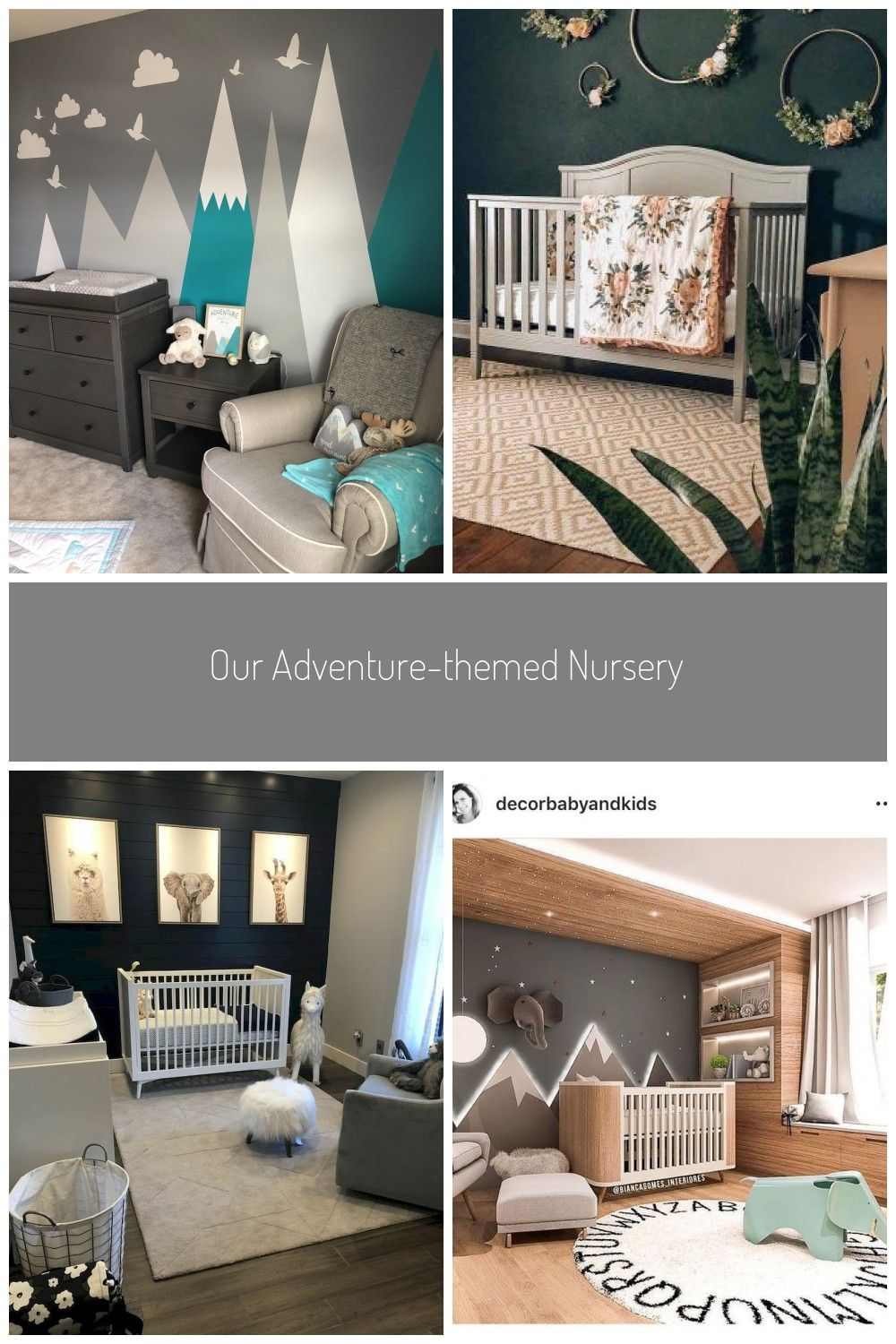 Our Adventure Themed Nursery In 2020 Kinderzimmer Ideen