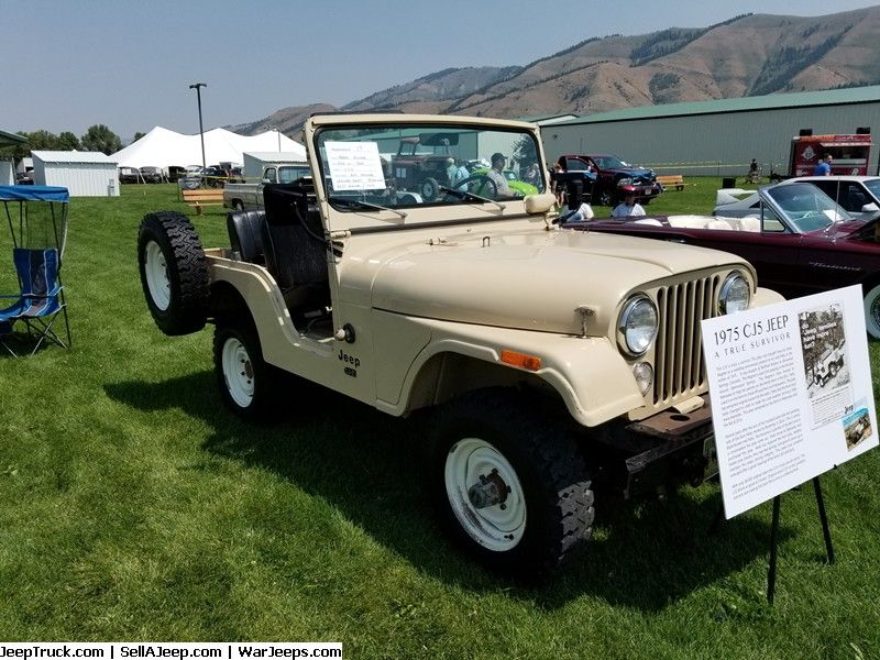 Jeeps For Sale And Jeep Parts For Sale 1975 Cj5 In 2020 Jeep