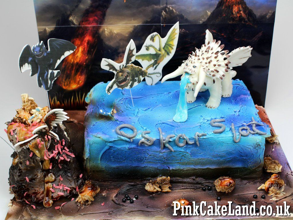How to train your dragon birthday cake in london uk httpwww how to train your dragon birthday cake in london uk httpwww ccuart Images